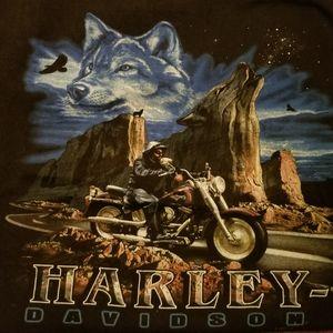 VINTAGE HARLEY DAVIDSON TEE 1998